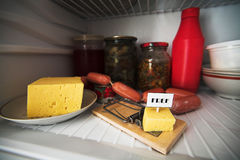 3干酪释放 库存照片
