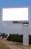 3广告的广告牌 库存照片