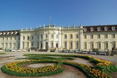 3座城堡ludwigsburg 免版税库存照片