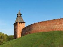 3座城堡novgorod 免版税库存照片