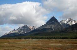 3座安地斯山ushuaia 免版税库存照片