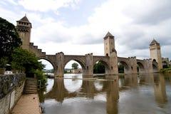 3座桥梁卡奥尔valetre 库存照片