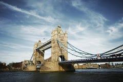 3座桥梁塔 库存照片