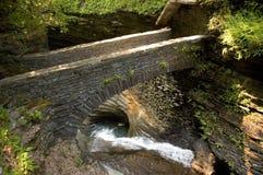 3座桥梁石头 免版税库存图片