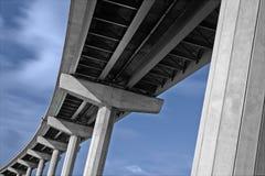 3座桥梁csp hindmarsh 免版税库存图片