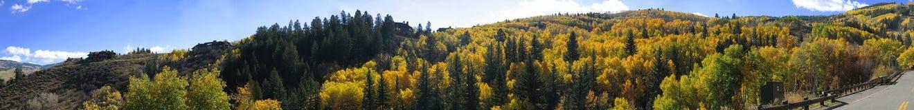 3座科罗拉多山 免版税库存照片