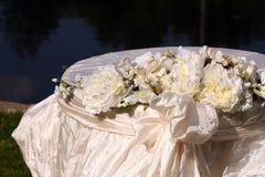 3张表婚礼 免版税库存照片