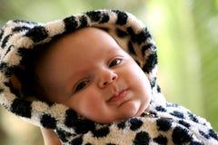 3愉快的婴孩 免版税库存图片