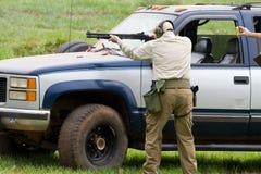 3慈善竞争枪 免版税库存图片