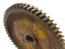3成了锯齿状生锈的轮子 库存照片