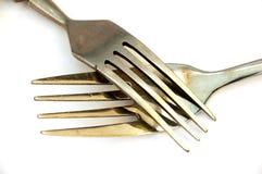3把叉子 库存图片