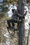 3把弓凹道充分的猎人 免版税库存图片