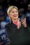 3拍的克林顿・希拉里垂直 库存图片