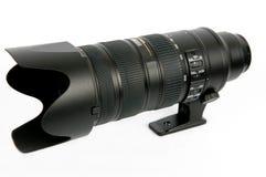 3摄象机镜头缩放 图库摄影