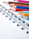 3支颜色铅笔 免版税图库摄影