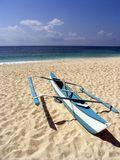 3条小船捕鱼菲律宾 图库摄影