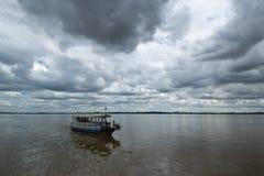 3条小船行程 免版税图库摄影