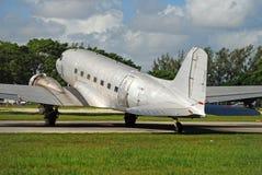 3架飞机dc道格拉斯 库存图片