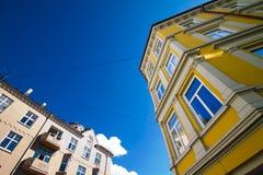3栋公寓奥斯陆 免版税库存图片