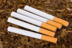 3根香烟烟草 库存图片