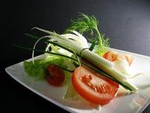 3棵沙拉蔬菜 免版税库存图片