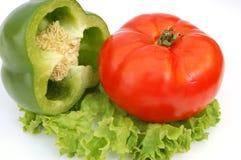 3棵混杂的蔬菜 免版税库存照片