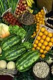 3棵特写镜头蔬菜 免版税库存图片