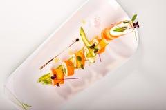 3棵红萝卜卷春天 库存图片