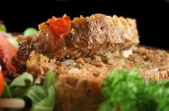 3棵肉饼蔬菜 图库摄影