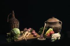 3棵蔬菜 图库摄影