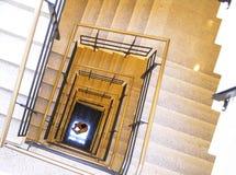 3楼梯 免版税库存照片