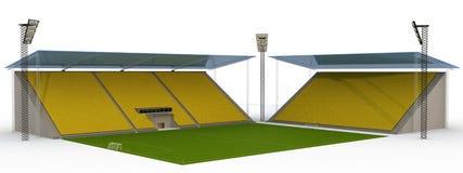 3橄榄球场 免版税图库摄影