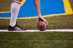 3橄榄球 免版税库存图片