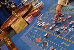 3比赛轮盘赌 库存照片