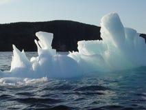 3水下的冰山 免版税库存照片