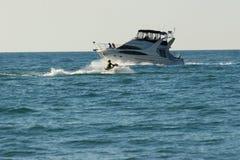 3汽艇 库存图片