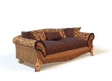 3沙发 库存例证