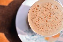 3泡影牛奶茶 免版税图库摄影