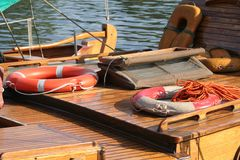 3游艇 免版税库存照片