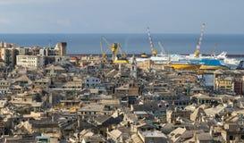 3热那亚老城镇 免版税库存照片