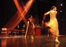 3现代的舞蹈 免版税库存照片