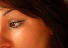 3眼睛 图库摄影