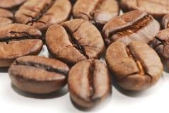 3粒豆咖啡 库存图片