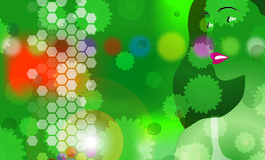 3绿色导致 库存图片