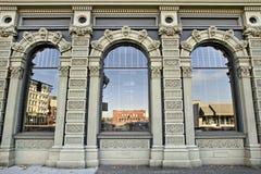 3编译的街市有历史的俄勒冈萨利姆 免版税图库摄影