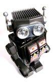 3老机器人罐子玩具 库存图片
