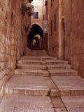 3胡同耶路撒冷 免版税库存图片