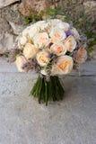 3花束婚礼 免版税图库摄影