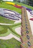 3草坪模式 免版税库存照片