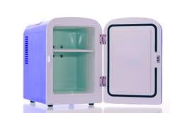 3蓝色冰箱缩样 免版税库存图片